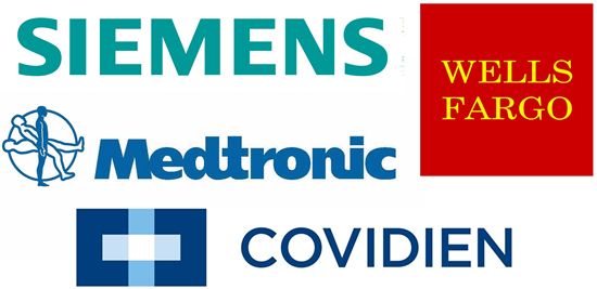 Medtronic, Covidien, Wells Fargo, is Medtronic a good stock to buy, is Covidien a good stock to buy, is Wells Fargo a good stock to buy, is Siemens a good stock to buy, General Electric, Hitachi, Mitsubishi Heavy,