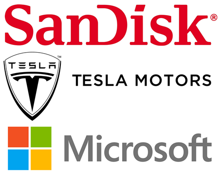 Tesla Motors, Microsoft, SanDisk, Is Tesla A Good Stock To Buy, Guy Adami, Is Microsoft A Good Stock To Buy, Tim Seymour, Steve Grasso, Is SanDisk A Good Stock To Buy, Fusion-IO