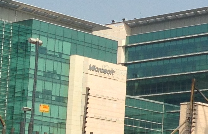 Microsoft MSFT Offices Hyderabad