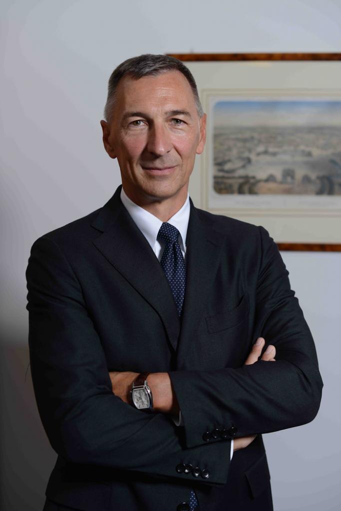 Luxottica co-CEO Enrico Cavatorta