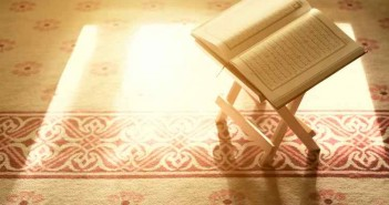 holy book of Islam in Malaysian mosque