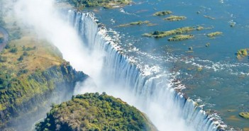 falls, victoria, africa, zambia, world, livingstone, water, river, outdoor, fog, copter, wet, park, tropical, green, travel, wonder, flow, landmark, ecotourism, gorge, ecology, Unesco